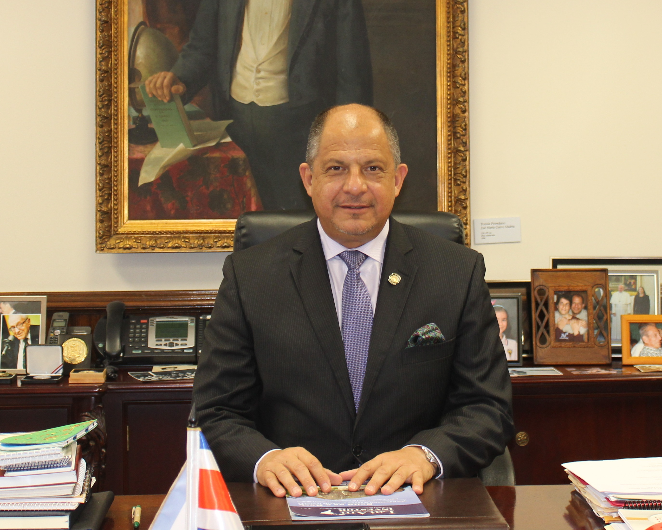 Interview with Luis Guillermo Solís, President of Costa Rica