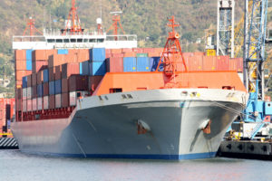 The future of shipping is bigger vessels and more containers