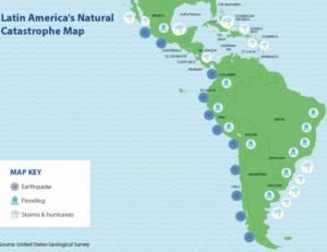 catastrophe map