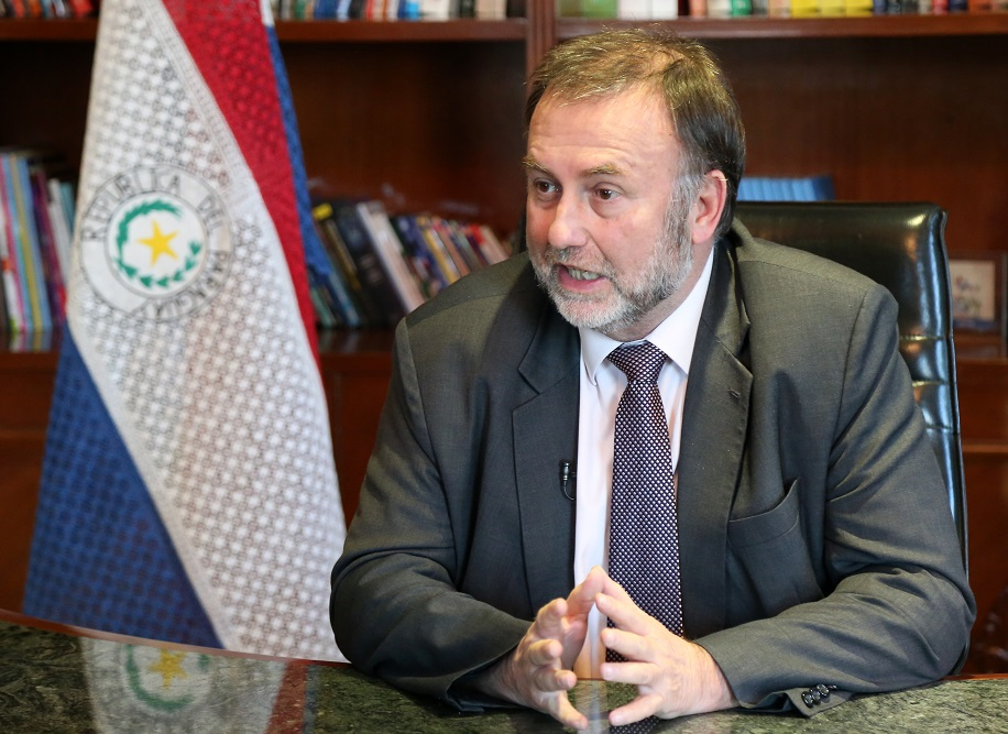 Interview with Benigno López, Paraguay's Finance Minister