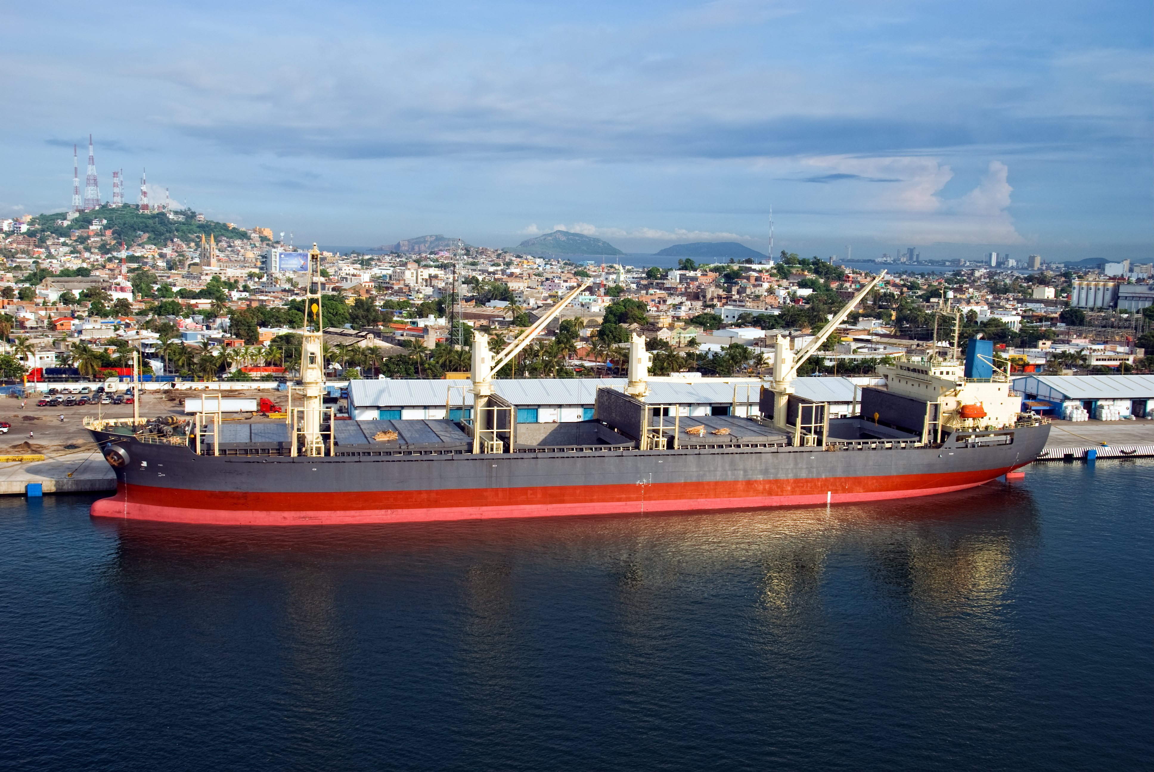 Cuba's location gives it big potential for transhipment
